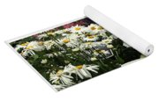 European Flower Market Collage Yoga Mat