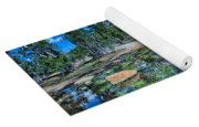Evening At Cathedral Lakes Yoga Mat