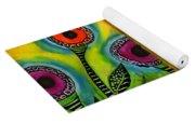 Exotic Halos - Wip Yoga Mat