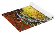 Expressionist 2 Messy Pears Yoga Mat
