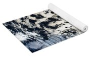 Eyjafjallajokull Glacier And Ashes Yoga Mat