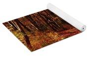 Fall At Cheesequake Yoga Mat