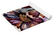 Fall Flower Colors  Yoga Mat