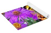 Fall Flutterby Yoga Mat