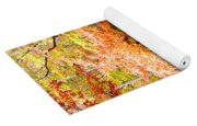 Fall Folage And Pond Yoga Mat