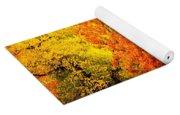Fall In Full Bloom Yoga Mat