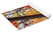 Fall In The Forest Yoga Mat