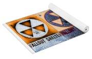 Fallout Shelter Mosaic Yoga Mat