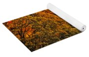 Fall's Mountainside Cascade Yoga Mat