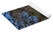 Farm Cabin Cades Cove Tennessee Yoga Mat