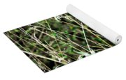 Fawn In The Grass Yoga Mat