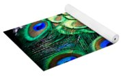 Feather Abstract Yoga Mat