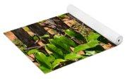 Fency Free Brazlian Flowers Yoga Mat
