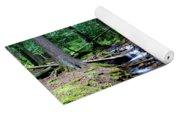 Ferns Dancing By The Creek Yoga Mat