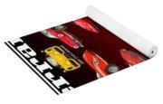 Ferrari Sports Car Poster  Yoga Mat