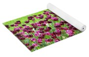 Field Of Purple Tulips 1 Yoga Mat