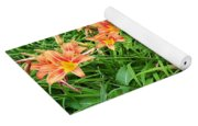 Field Of Tiger Lilies Yoga Mat