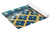 Fiesta 4- Colorful Pattern Painting Yoga Mat
