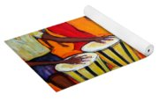 Fiesta At The Beach Yoga Mat