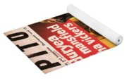 Film Noir Poster  The Burglar Jane Mansfield Yoga Mat