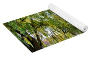 Finger Lakes Weeping Willows Yoga Mat
