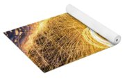 Fire And Ice II Yoga Mat