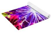 Fireworks At Night 7 Yoga Mat