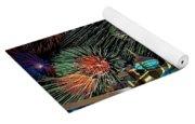 Fireworks Over Atlantic City Yoga Mat