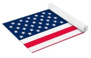 Flag Of The United States Of America Yoga Mat