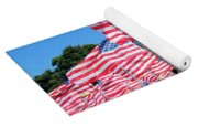 Flags Of Glory Yoga Mat