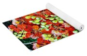 Flamboyant In Bloom Yoga Mat