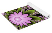 Floral Decorations Yoga Mat