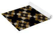 Floral Pattern Yoga Mat