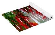 Flower Chandelier Yoga Mat