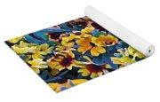 Flower Garden Yoga Mat