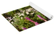 Flower - Poppy - Piece Of Heaven Yoga Mat