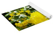 Flower - Austin Botanical Gardens -  Luther Fine Art Yoga Mat