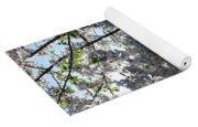 Flowering Cherry - White Yoga Mat