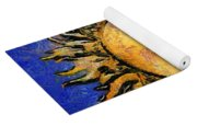 Flowering Sun Yoga Mat