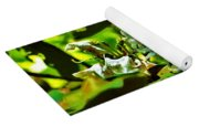 Flowers In The Woods Yoga Mat
