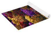 Flowers Near The Grand Palais Off Of Champ Elysees In Paris France   Yoga Mat