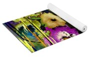 Flowers Night Party Yoga Mat