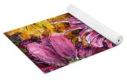 Flowers Of Love Yoga Mat