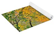 Flowing River Leaning Tree Yoga Mat