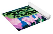 Forest Path In Summer Yoga Mat
