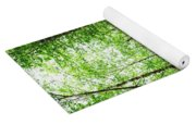 Forest Trail To Follow Yoga Mat