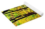 Forest Waves Yoga Mat