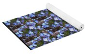 Forget Me Not Flowers Yoga Mat