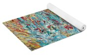 Four Expressionist Cats Yoga Mat