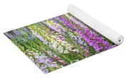Foxglove Garden In Golden Gate Park Yoga Mat